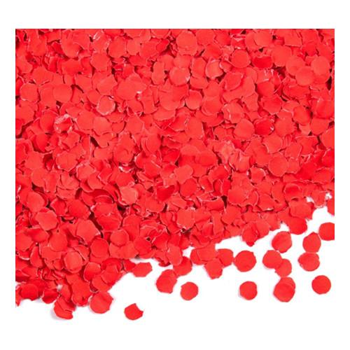 Papperskonfetti Röd