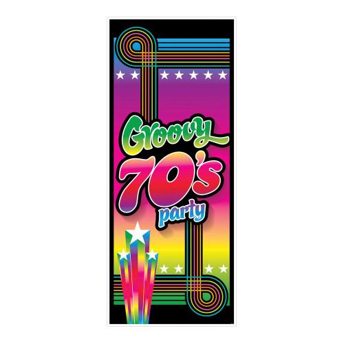 Dörrdekoration Groovy 70's