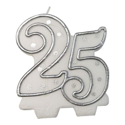 Sifferljus Silver 25