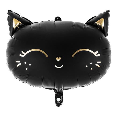Folieballong Katt Svart - 1-pack