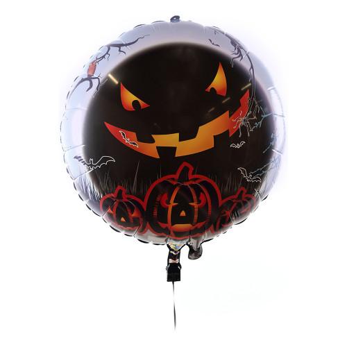 Folieballong LED Halloween - 1-pack