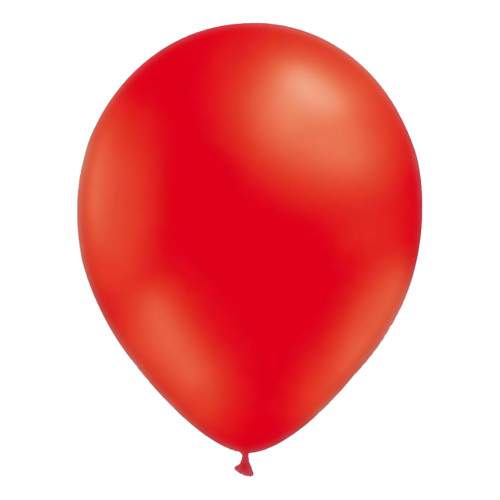 Miniballonger Röda - 100-pack