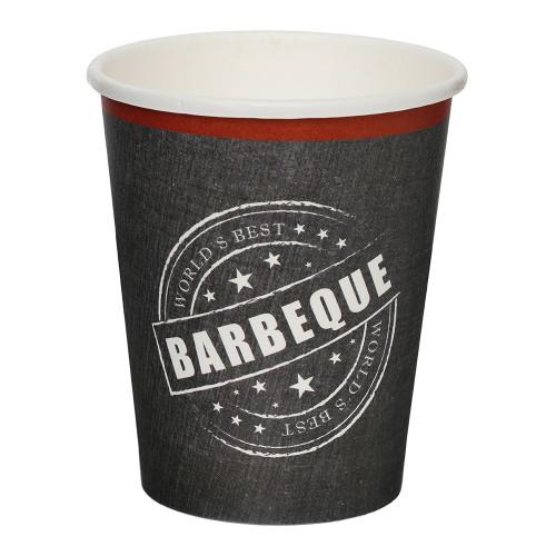 Pappersmuggar BBQ - 8-pack