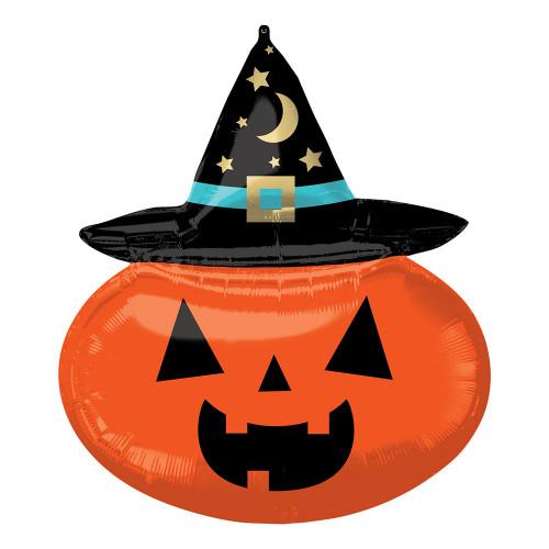 Folieballong Witchy Pumpkin SuperShape