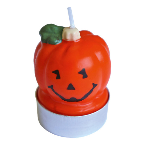 Halloweenljus Pumpa - 3-pack