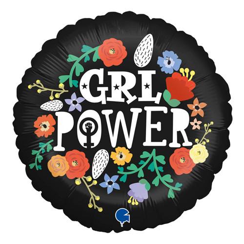 Folieballong Girl Power