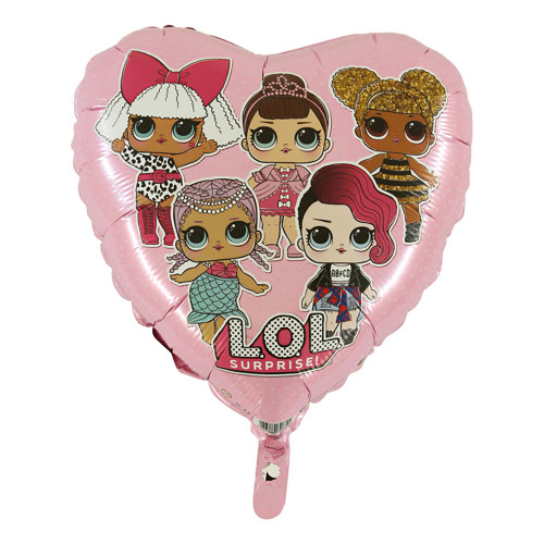 Folieballong LOL Surprise Rosa