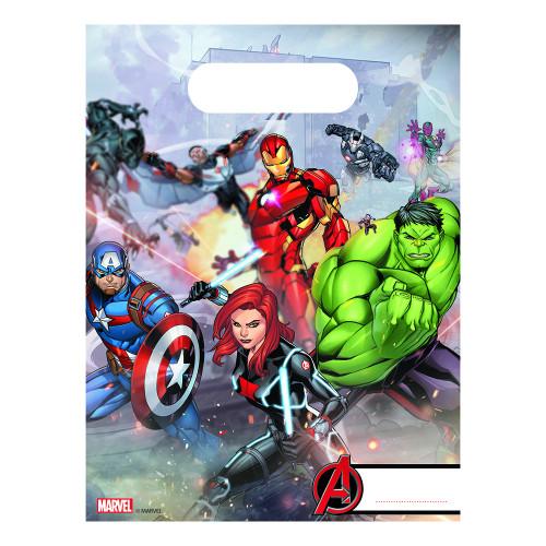 Kalaspåsar Avengers - 6-pack