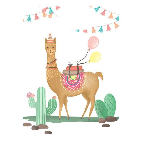 Kalaspåsar Llama - 6-pack