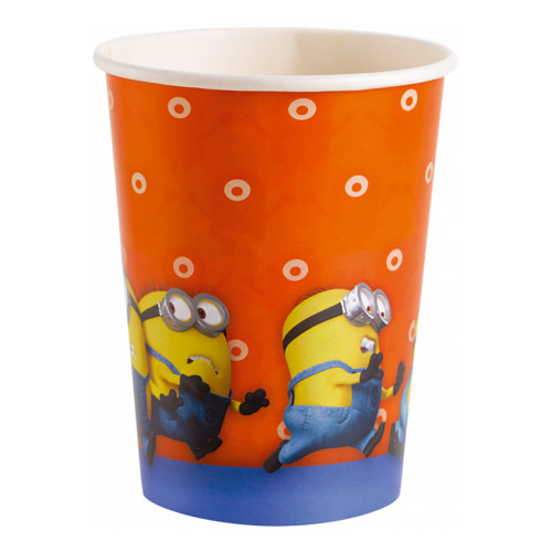 Pappersmuggar Minions - 8-pack
