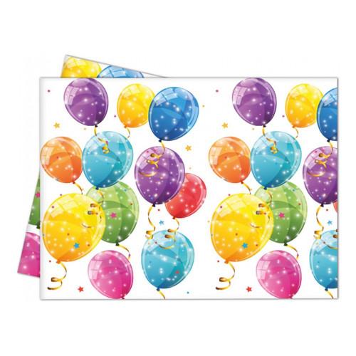 Plastduk Ballonger Flerfärgade