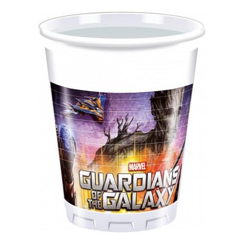 Plastmuggar Guardians of the Galaxy - 8-pack