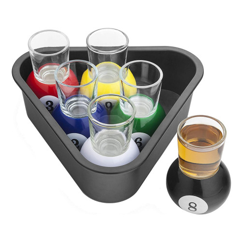 Biljard Shotglas Set