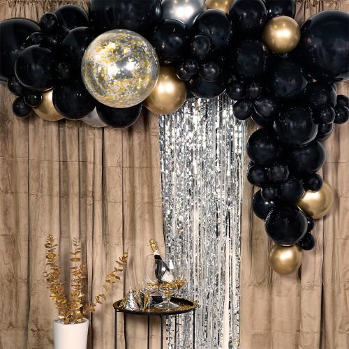 Ballongbåge Svart/Guld