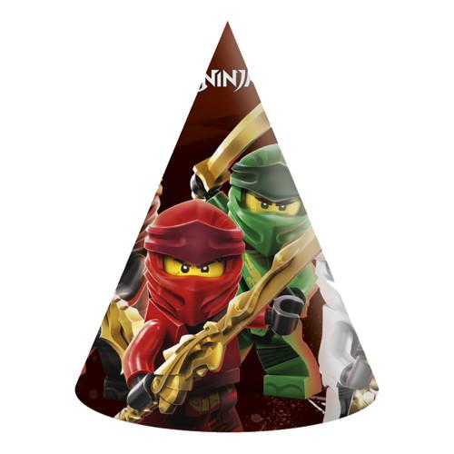 Partyhattar Lego Ninjago - 6-pack