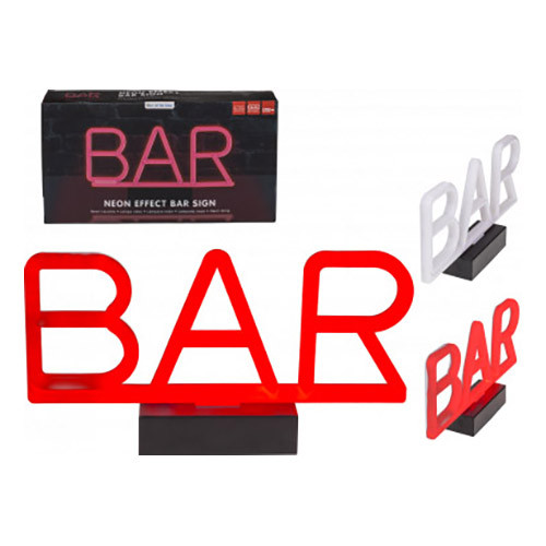 Batteridriven Neonlampa Bar