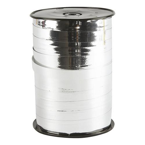 Presentsnöre Metallic Silver - 250 meter