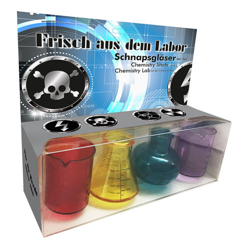 Labb Shotglas - 4-pack