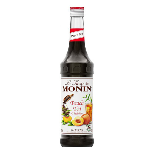 Monin Peach Tea Syrup - 70 cl