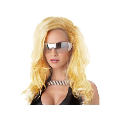 Förförisk Blond Peruk - One size