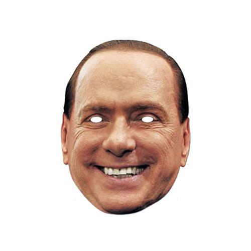 Silvio Berlusconi Pappmask - One size