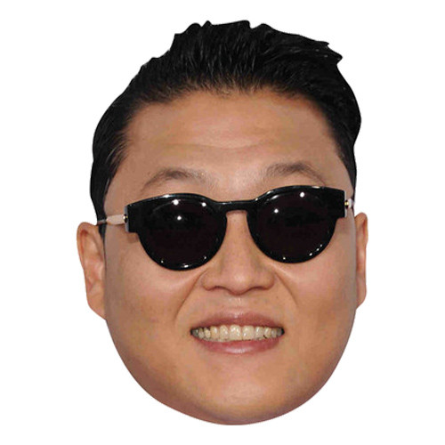 Gangnam Style Pappmask - One size