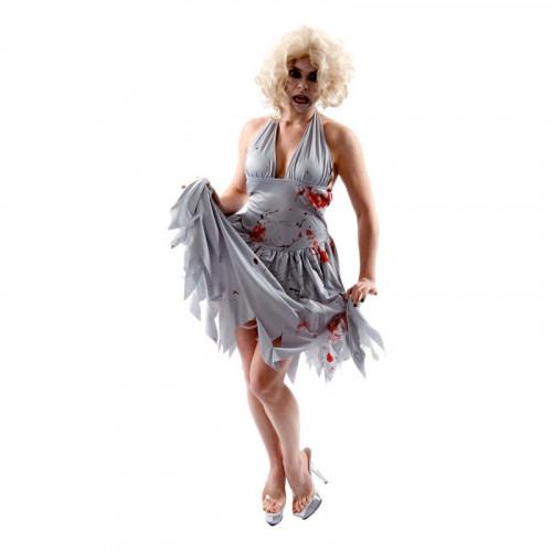 Marilyn Monroe Zombie Maskeraddräkt