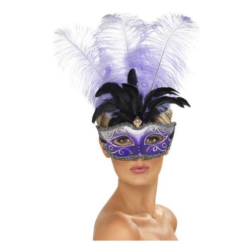 Venetiansk Colombina Ögonmask - One size