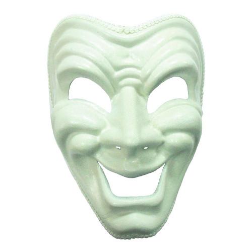Glad Vit Teatermask - One size