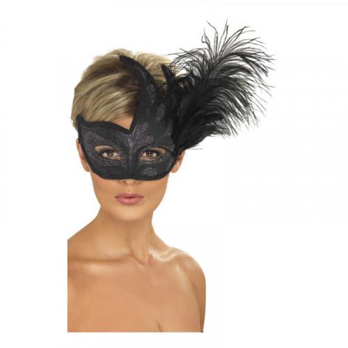 Colombina Svart Ögonmask - One size
