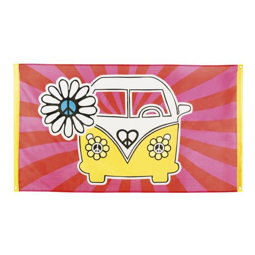 Flagga Hippie