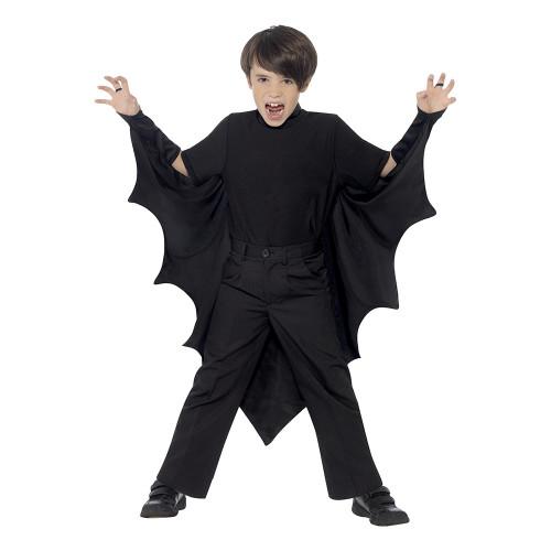 Fladdermusvingar för Barn Svarta - One size