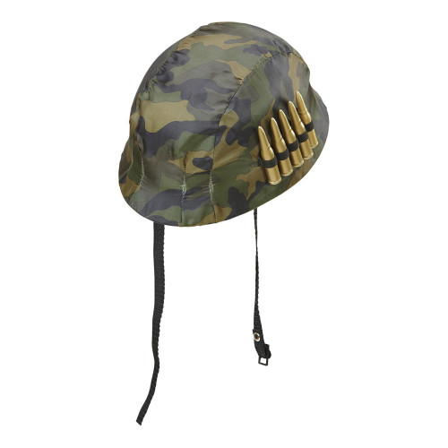 Soldathjälm med Patroner - One size