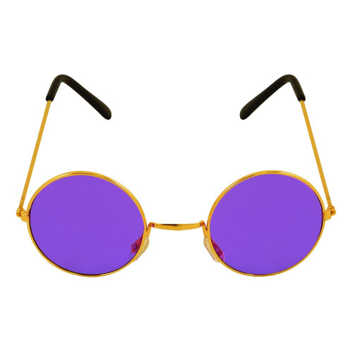 Runda Glasögon Lila