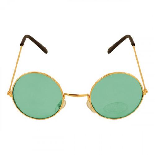 Runda Glasögon Grön