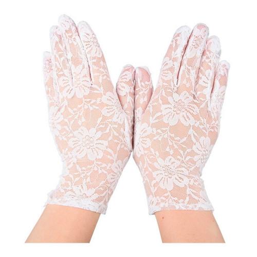 Spetshandskar Vita - One size