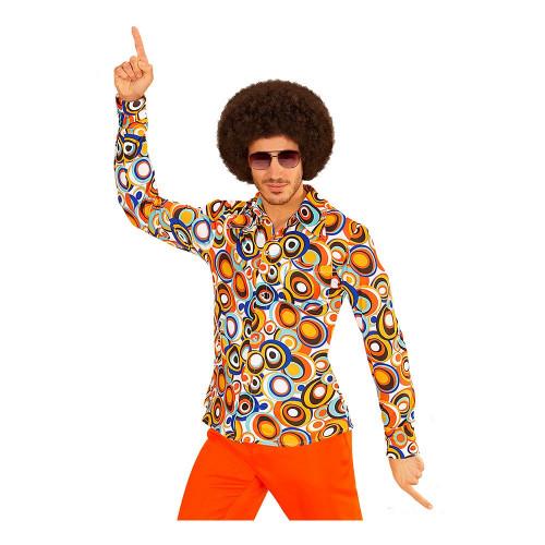 70-tals Herrskjorta Bubbles