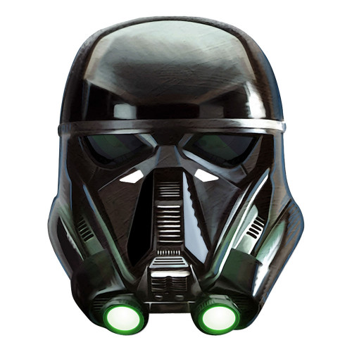 Star Wars Death Trooper Pappmask - One size