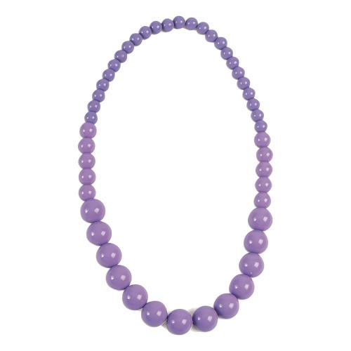 50-tals Pärlhalsband Lavendel