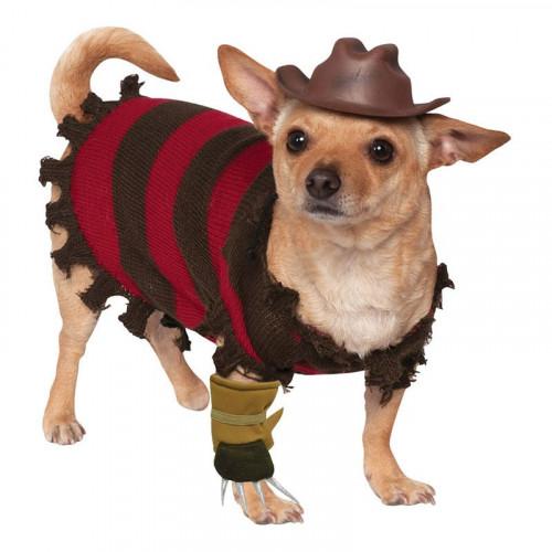 Freddy Kreuger Hund Maskeraddräkt