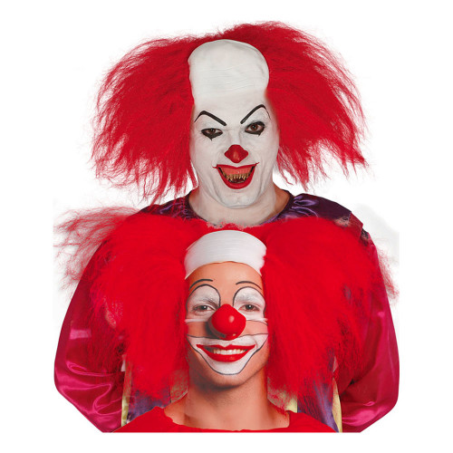 Clownflint med Rött hår - One size