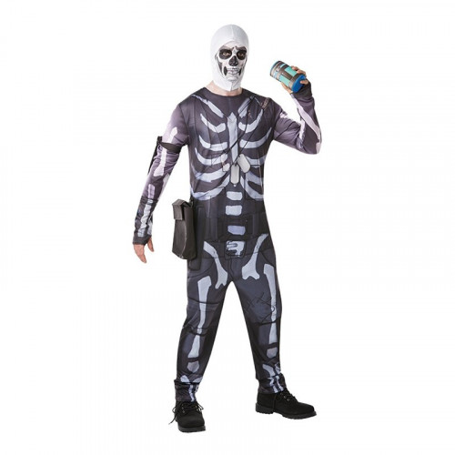 Fortnite Skull Trooper Maskeraddräkt