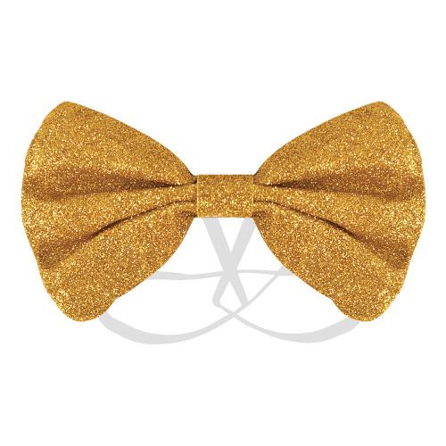 Fluga Glitter Guld
