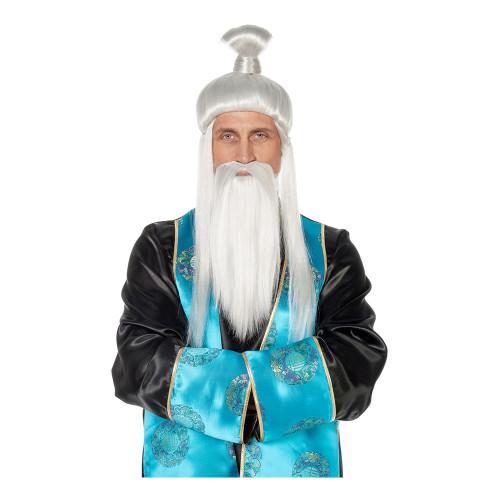 Kinesisk Kejsare Perukset - One size