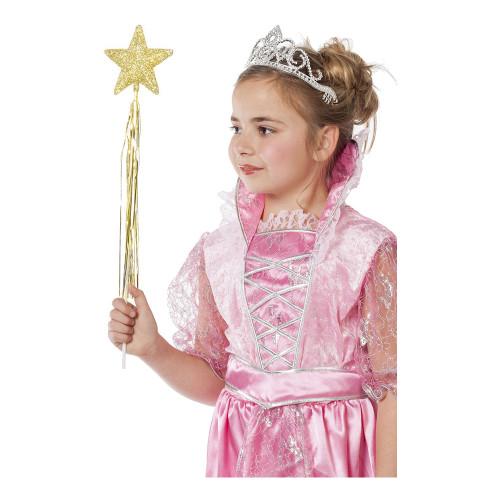 Prinsesstav Glitter Guld