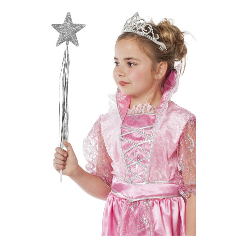 Prinsesstav Glitter Silver