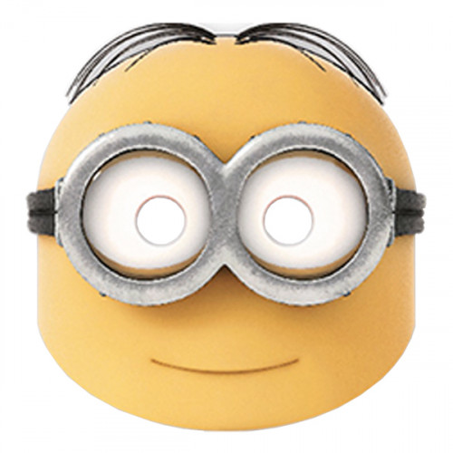 Pappmasker Minions - 6-pack