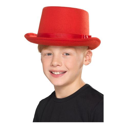 Höghatt Röd för Barn - One size