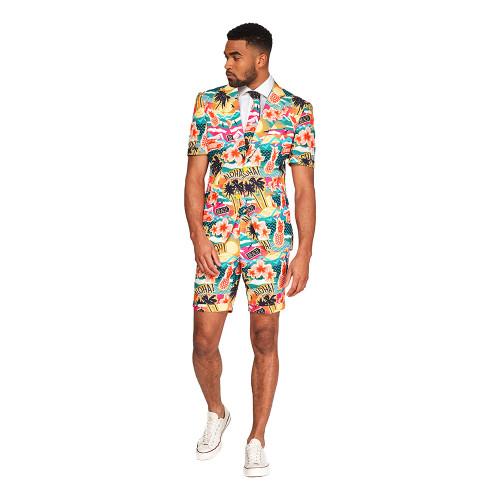OppoSuits Aloha Hero Shorts Kostym