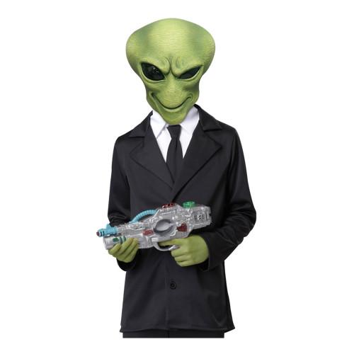 M.I.B Alien Barn Mask med Händer - One size